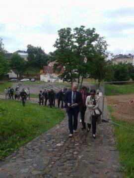 """Paveldo komisijos pirmininkė Evelina Karalevičienė: """"Tvarkant piliakalnius negali būti taikomi dvigubi standartai"""""""
