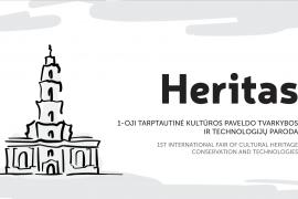 """Paroda """"Heritas"""" sieks suburti besidominčius kultūros paveldu"""