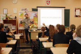 """Sėkmingai įgyvendintas edukacinis projektas """"Piliakalnių paslaptys"""""""