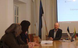 Paveldo komisija lankėsi Talino istoriniame centre