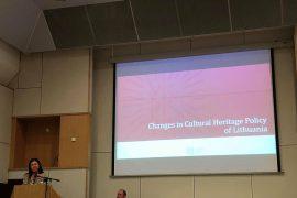 Baltijos jūros regiono šalių forume pristatyti Lietuvos kultūros paveldo politikos pokyčiai