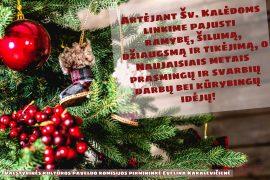 Sveikiname su Šv. Kalėdomis ir Naujaisiais Metais!