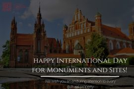 Happy International Day for Monuments and Sites!