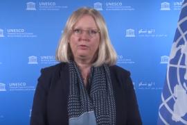 Lietuvą pasveikino UNESCO Pasaulio paveldo centro direktorė