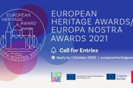 The National Commision for Cultural Heritage of the Republic of Lithuania calls to submit applications for the Europa Nostra Awards 2021
