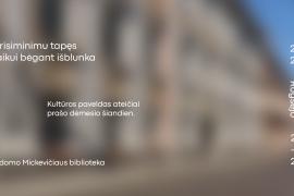 Galima ir negalima: konsultacijų ir įkvėpimo erdvė kultūros paveldo festivalyje Heritas